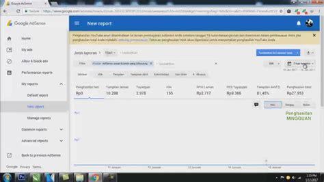 adsense youtube cara cara mengecek gaji atau penghasilan dari google adsense