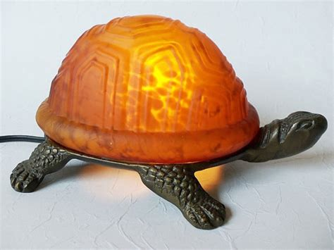 Turtle Lights by Vintage Turtle Light Glass Accent L