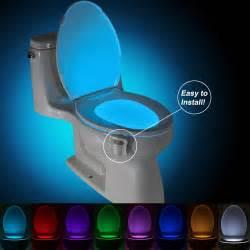 toilet light brelong aaa pir led toilet light bathroom washroom 8 73