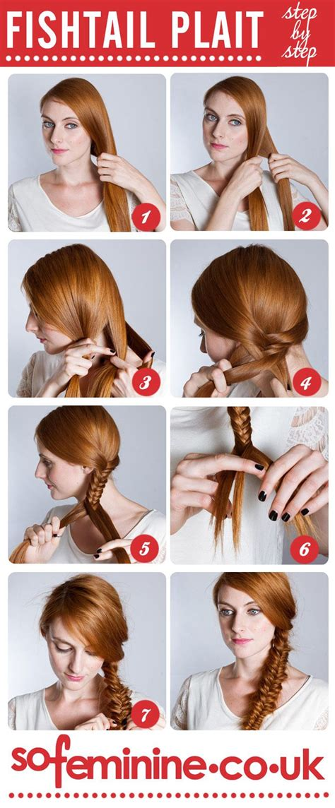 cool braids steps how to do a fishtail plait step by step fishtail braid