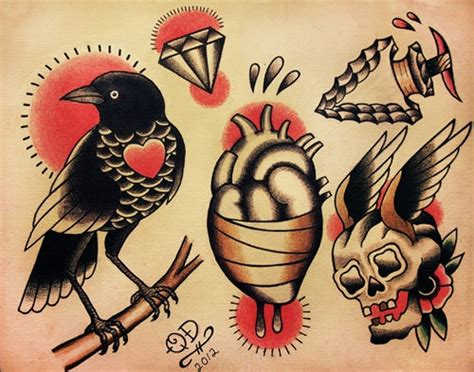 tattoo design etsy tattoo trends traditional tattoo designs by