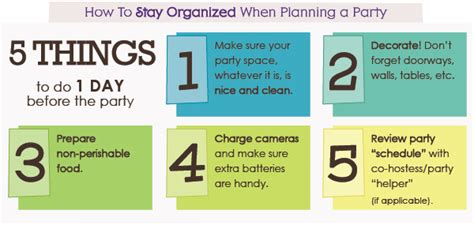 things to do in s day 5 things to do 1 day before a plus a printable