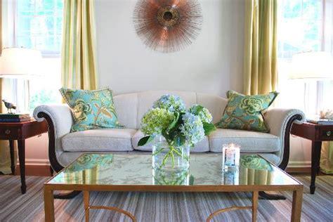 Aqua Living Room Color Scheme Whispered Whimsy Vintage Aqua Chartreuse A Combo