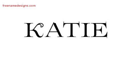 tattoo name katie flourishes name tattoo designs katie printable free name