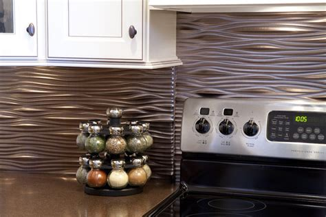 Modern Backsplash Kitchen Modern Backsplash Styles Modern Other Metro By