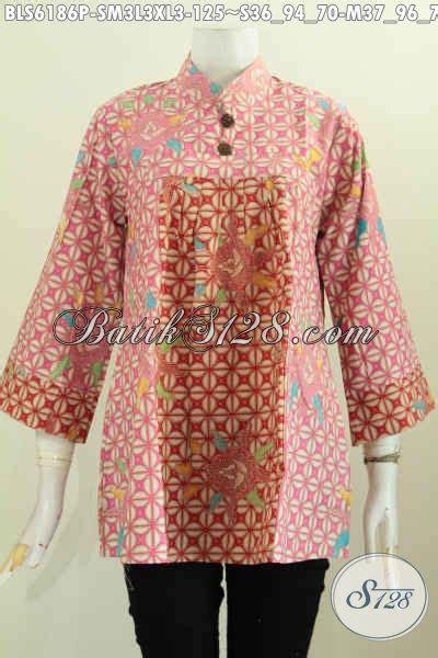 desain baju batik bagus baju batik bagus banget blus batik keren dan berkelas