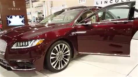 burgundy porsche 2017 2017 lincoln continental quot burgundy velvet tinted clearcoat