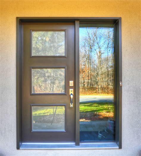 Exterior Doors Montreal Doors And Windows Contemporary Front Doors Montreal By Git Aluminium