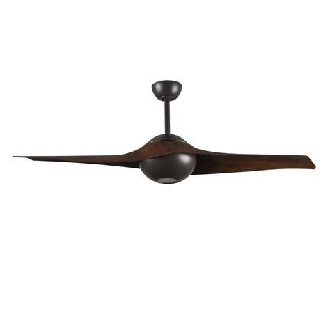 High Tech Ceiling Fan by Radionic Hi Tech Pertoria 60 In 2 Blade Textured Bronze