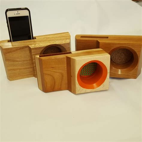 Klay Beatbox 7 cherry wood beatbox phone lifier power free wood
