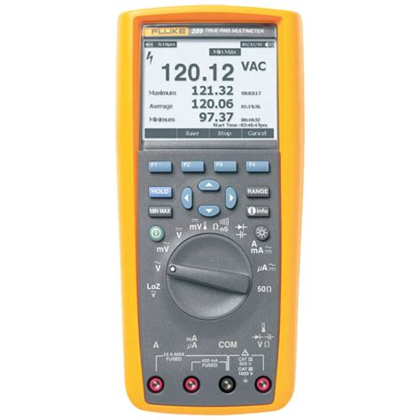 Multimeter Fluke 287 fluke 287 eur digital logging multimeter with trend indicator rapid