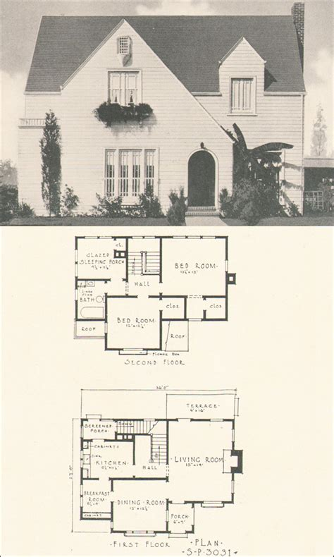 House Plans And Home Designs Free 187 Blog Archive 187 1920s 1920s Cottage House Plans