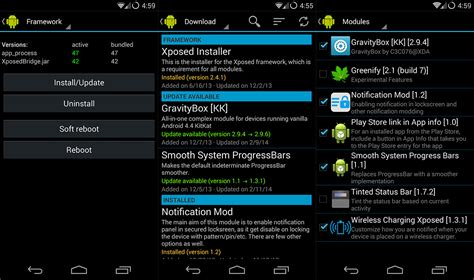 xposed installer android how to use the xposed framework for android tested