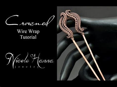 youtube tutorial wire wrapping 1000 images about hair combs on pinterest copper
