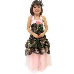 Formal wear formal girls realtree camo girls gown