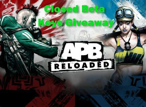 Apb Reloaded Giveaway - exclusive apb reloaded closed beta giveaway