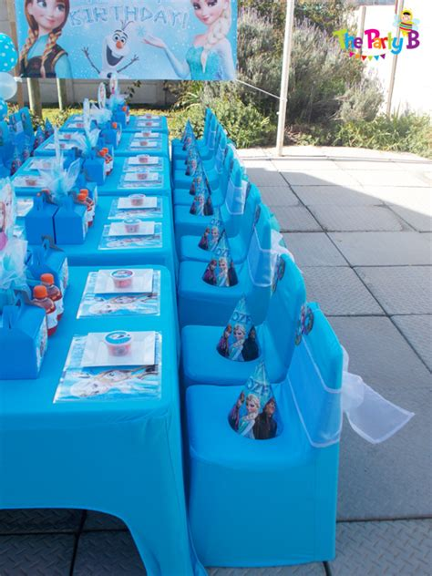 Decorate Home For Birthday Party frozen themed party cape town the party b kids party