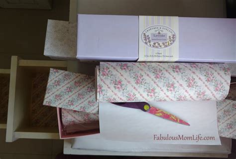 decorating with scented drawer liners fabulous