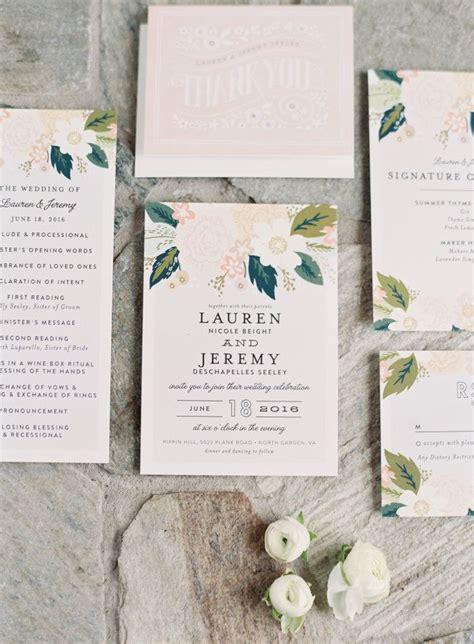 Best 25  Blush wedding invitations ideas on Pinterest