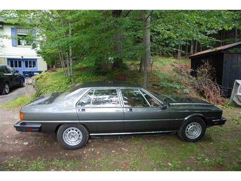 1985 maserati quattroporte 1985 maserati quattroporte for sale classiccars cc
