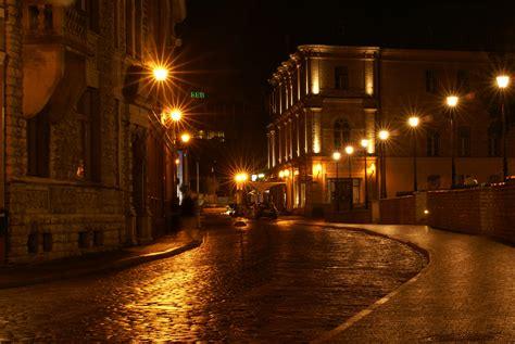 lights streets lights at wallpaper