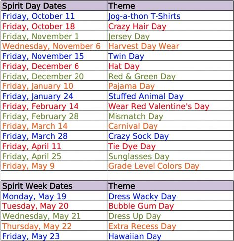 themes for an english day school spirit day ideas education school classroom