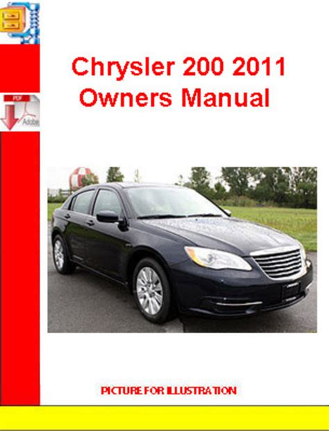 online service manuals 2011 chrysler 200 instrument cluster chrysler 200 2011 owners manual download manuals technical