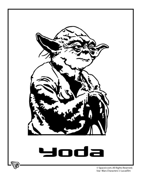 star wars coloring page yoda star wars yoda coloring pages coloring home