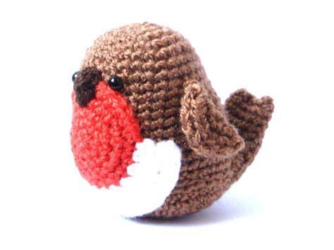 pattern for christmas robin crochet amigurumi pattern robin bird