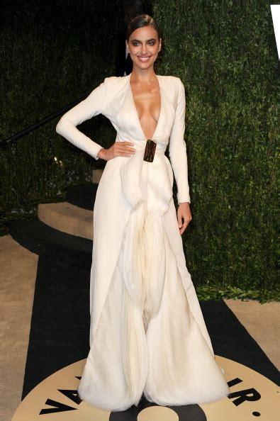 Vanity Fair Oscar 2013 Best Dressed Irina Shayk At The Vanity Fair Oscars 2013 Vanity