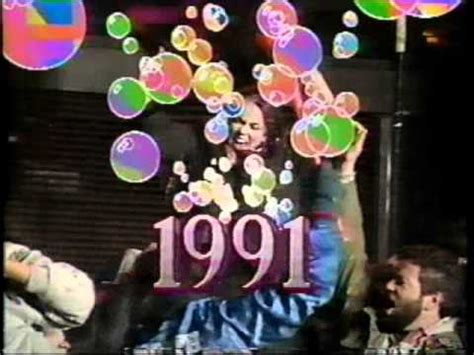 new year 1990 year of the new years at times square 1990 to 1991 from cbs