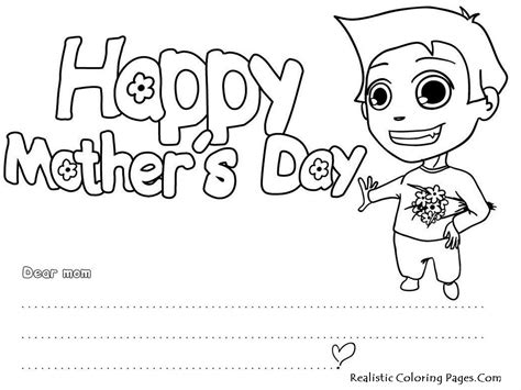 printable cards to color free mothers day cards coloring pages