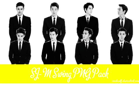 swing lyrics super junior super junior m swing png pack by vieshaelf on deviantart