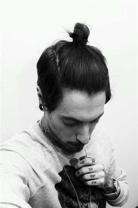top knot hairstyle men undercut top knot girl