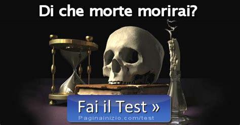 test morte test di morte morirai