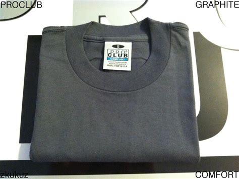 pro club comfort t shirts 1 new proclub comfort plain t shirt blank graphite tee pro