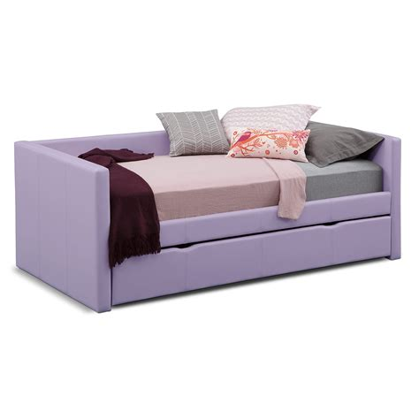 trundle twin bed carey iii twin daybed with trundle american signature