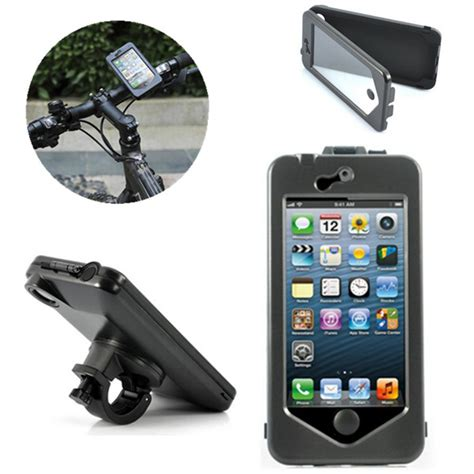 New Arrival Bicycle Bike Phone Holder With Waterproof Ck653 waterproof motorcycle bicycle bike holder mount for iphone 6 alex nld