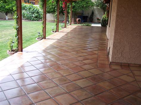 backyard tile ultimate guide to scottsdale outdoor tile desert tile and grout care