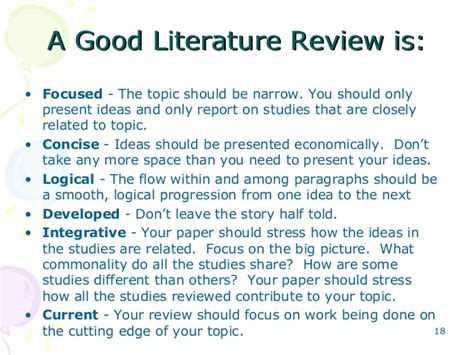 good topic for research paper 6 writing and presenting literature review khalid