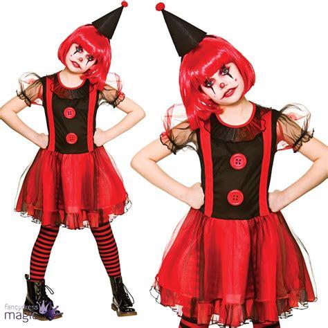 horror themed clothing uk kids girls teen scary circus horror evil clown halloween