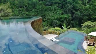 Hanging Infinity Pools In Bali Destination Ubud Luxury Hotel Amp Resort Hanging Gardens