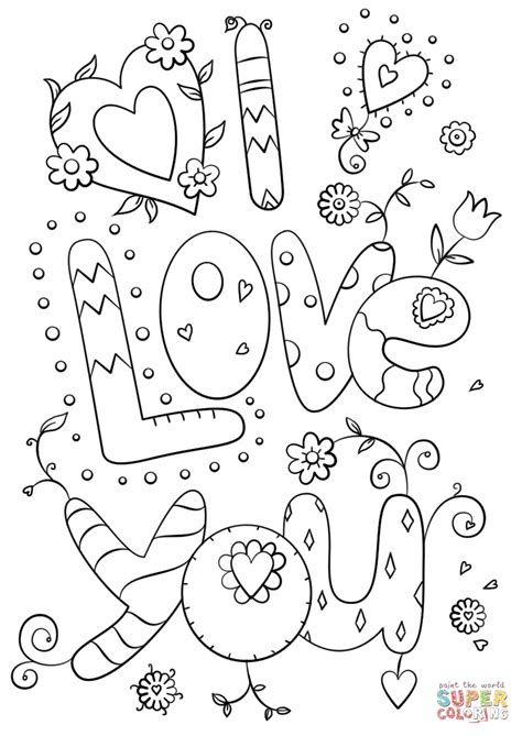 printable coloring pages i love you love you coloring pages coloring page pictures