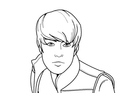 justin bieber coloring pages printable free justin bieber coloring 2 coloring town