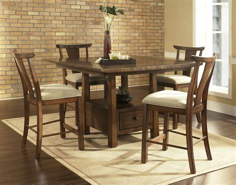 How To Clean Vinyl Upholstery Fabric Somerton Dakota Counter Height Dining Set By Oj Commerce