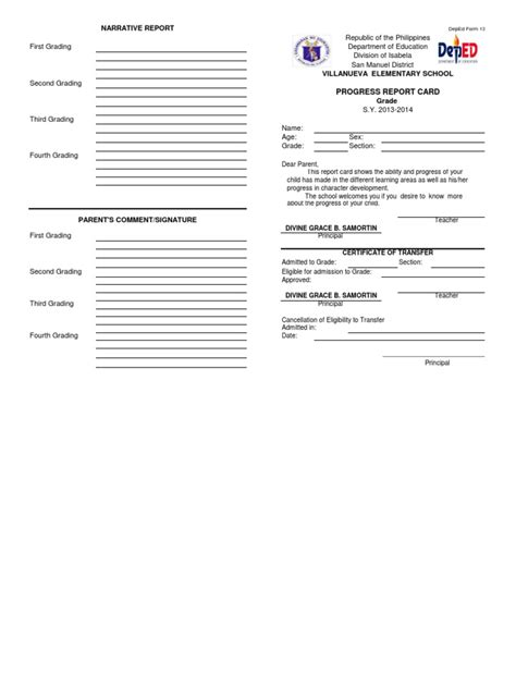 Request Letter Of Form 137 Request Letter For Form 137 In Elementary Free Editable K 12 Form 137 Template For