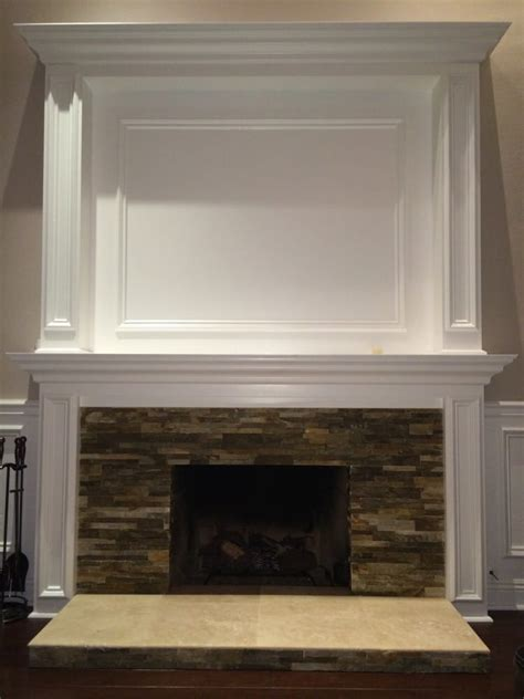 stone and tile over and old brick fireplace yelp