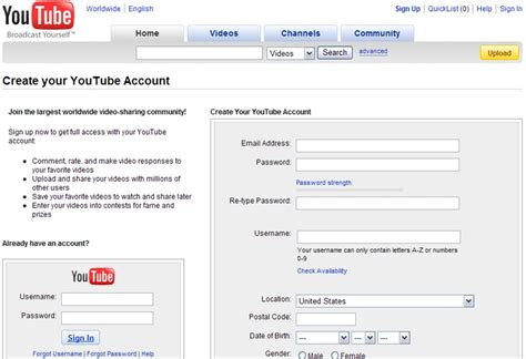 youtube channel layout creator jquery click href phpsourcecode net