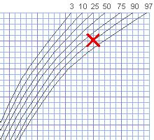 kopfumfang geburt tabelle perzentilenkurven rechner f 252 r gewicht und gr 246 223 e