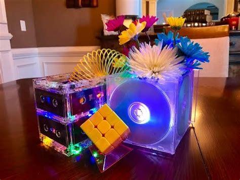 cassette centerpiece diy cassette centerpiece